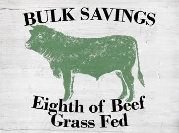 Eighth of Beef - Grass Fed