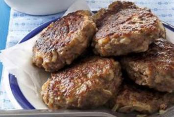 Blueberry Maple Sausage Patties