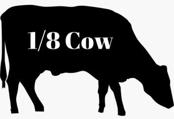 1/8 Grass-fed Beef Cow-Online ONLY