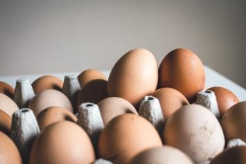 15 Dozen Eggs in Flats