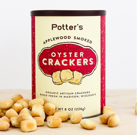 Applewood Smoked Oyster Crackers