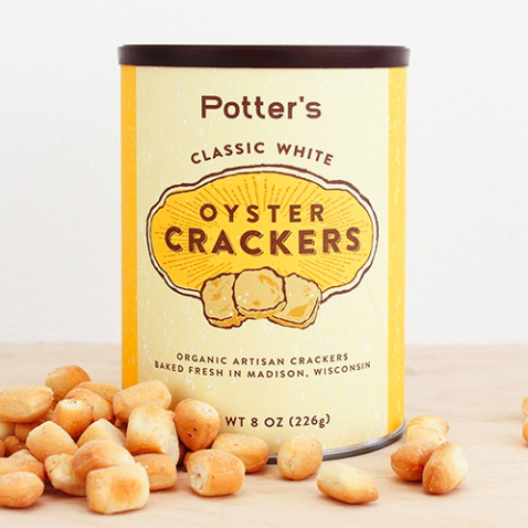 Classic White Oyster Crackers