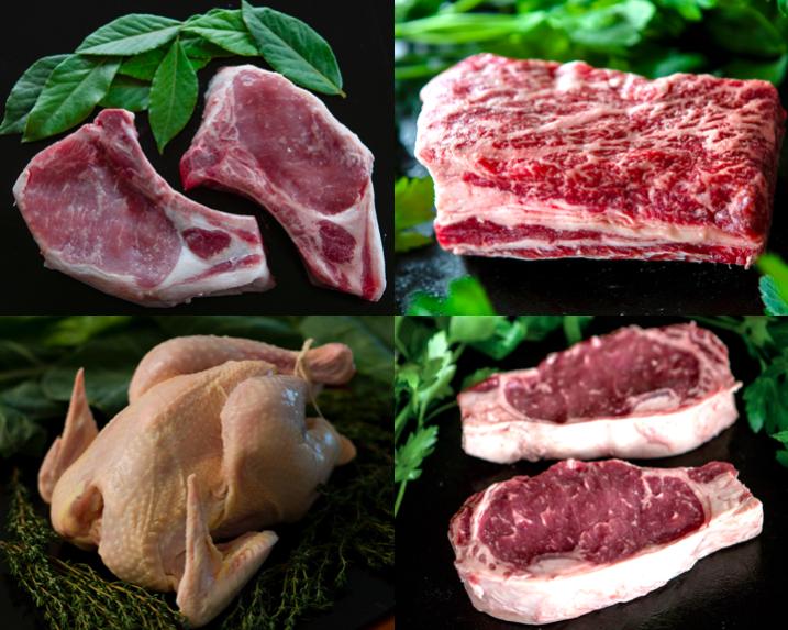 Pork, Beef, & Chicken Essentials