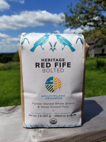 Red Fife Flour, Bolted