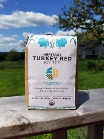 Heritage Turkey Red Flour, Bolted