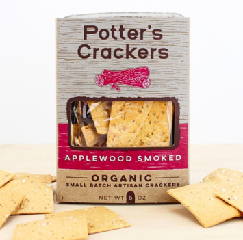 Applewood Smoked Crackers