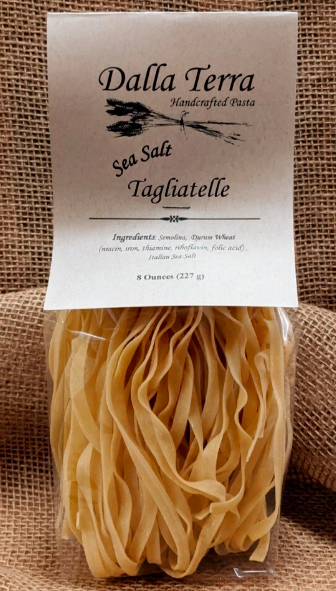 Plain Pasta With Sea Salt