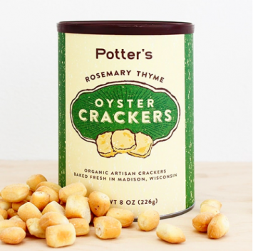 Rosemary Thyme Oyster Crackers