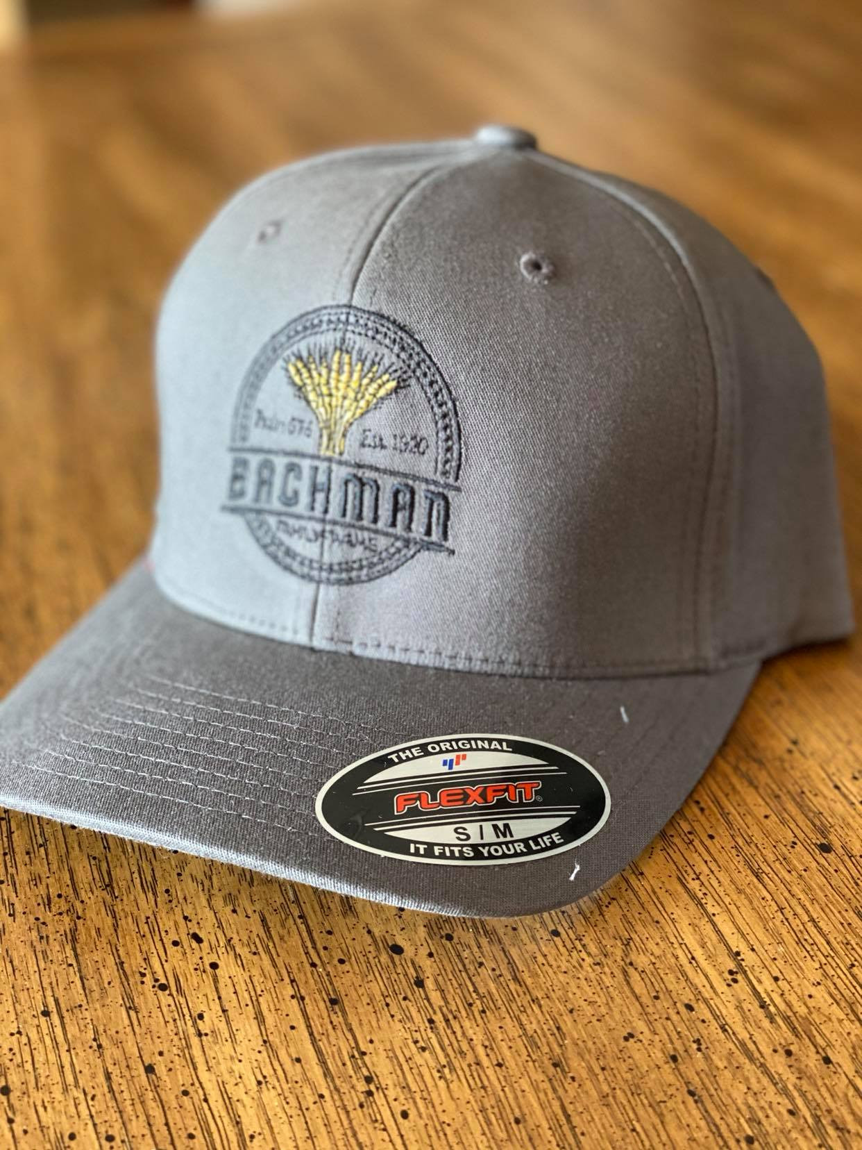 BFF Logo Fitted Hat - Charcoal