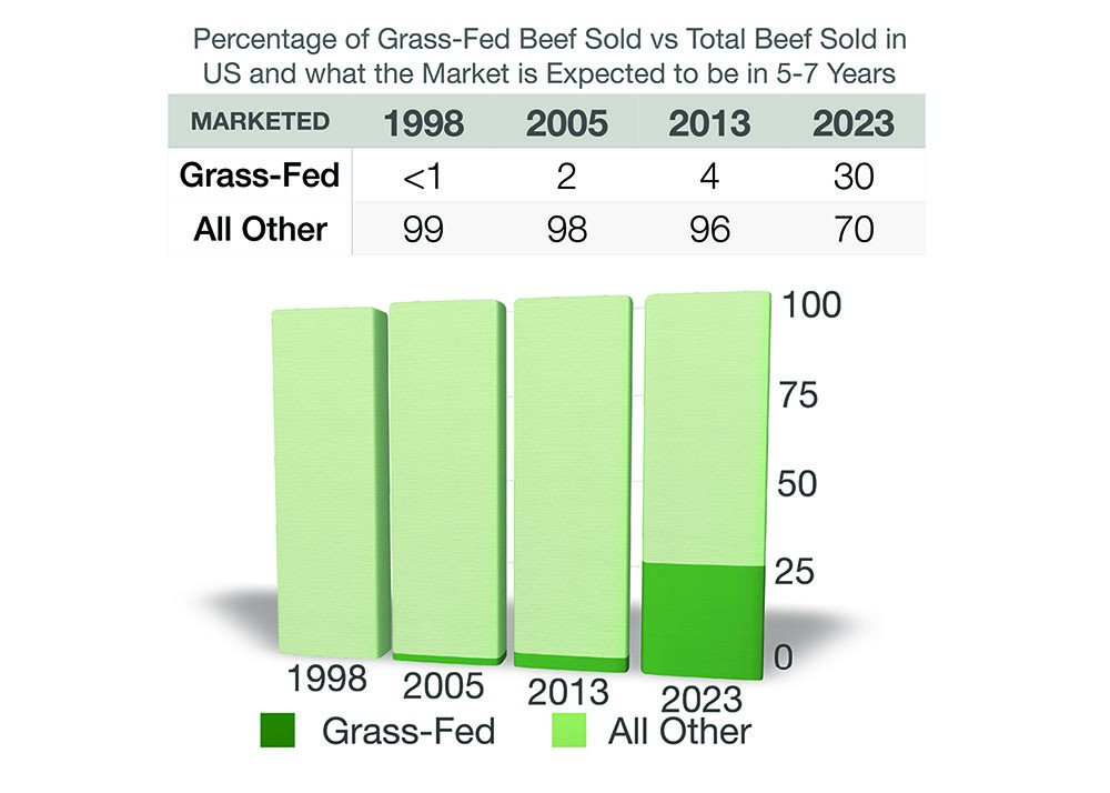 Grass-Fed Beef Becoming Increasingly Popular