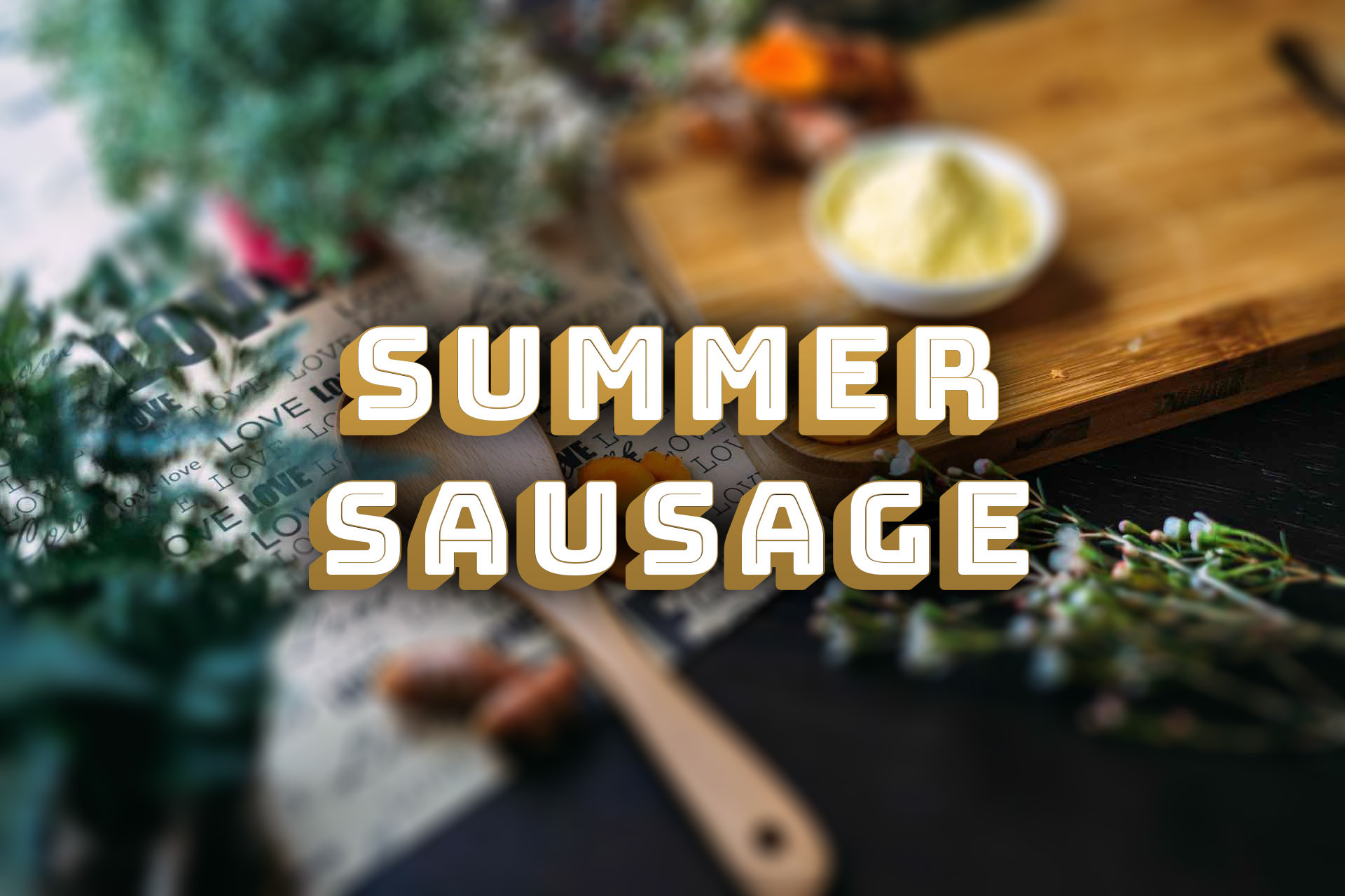 Summer Sausage - Jalapeno/Cheese