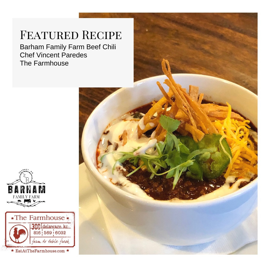 Barham Family Farm/The Farmhouse Beef Chili