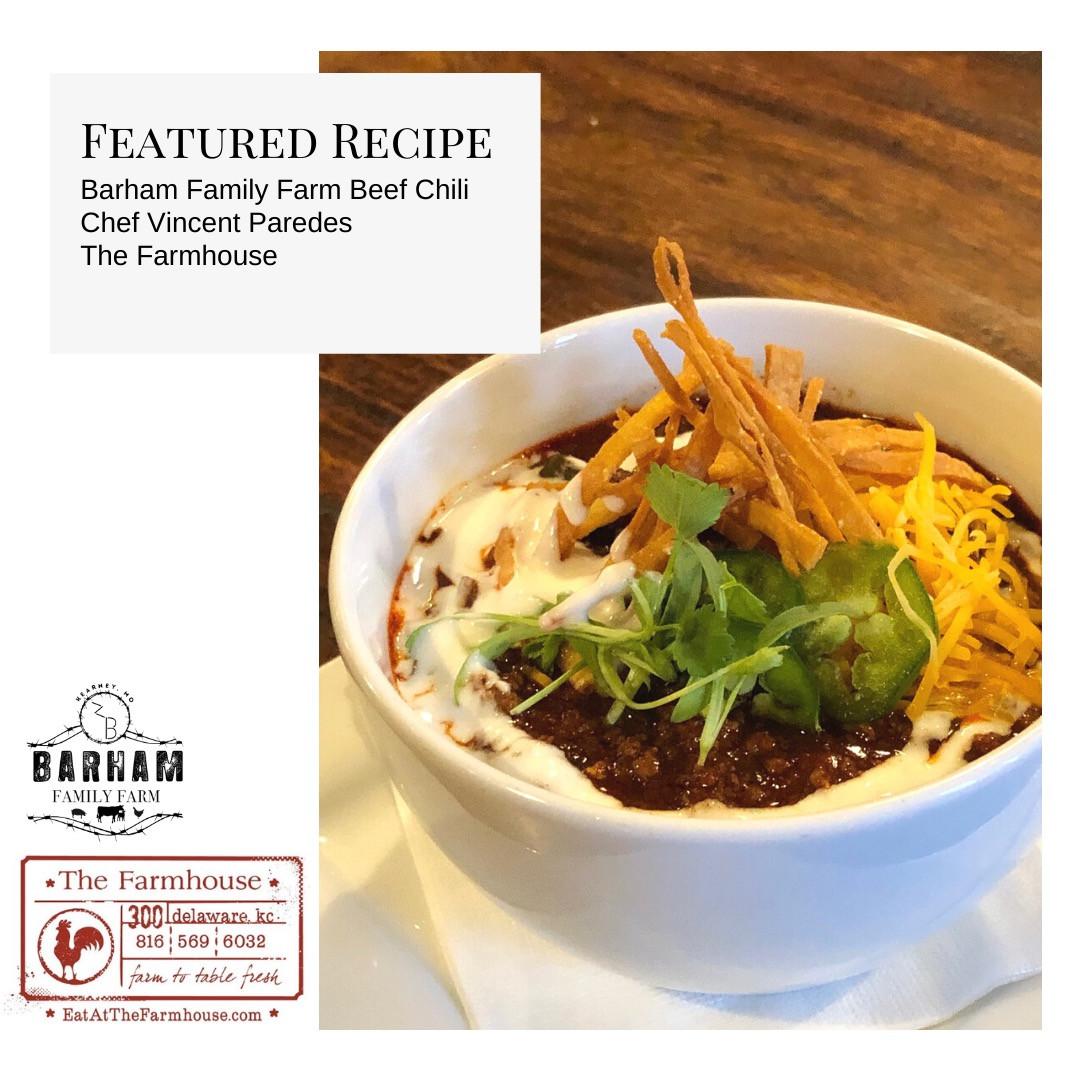 Barham Family Farm/The Farmhouse Beef Chili