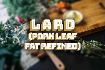 Lard (Pork Leaf Fat Refined)