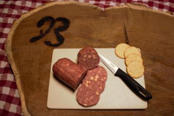 Cheddar Cheese Summer Sausage