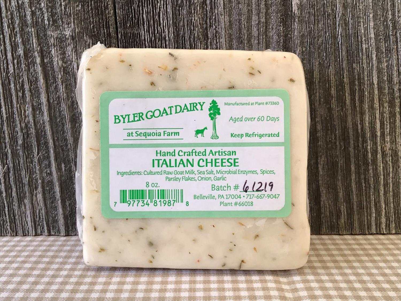 8 Ounces - Italian Goat Cheese