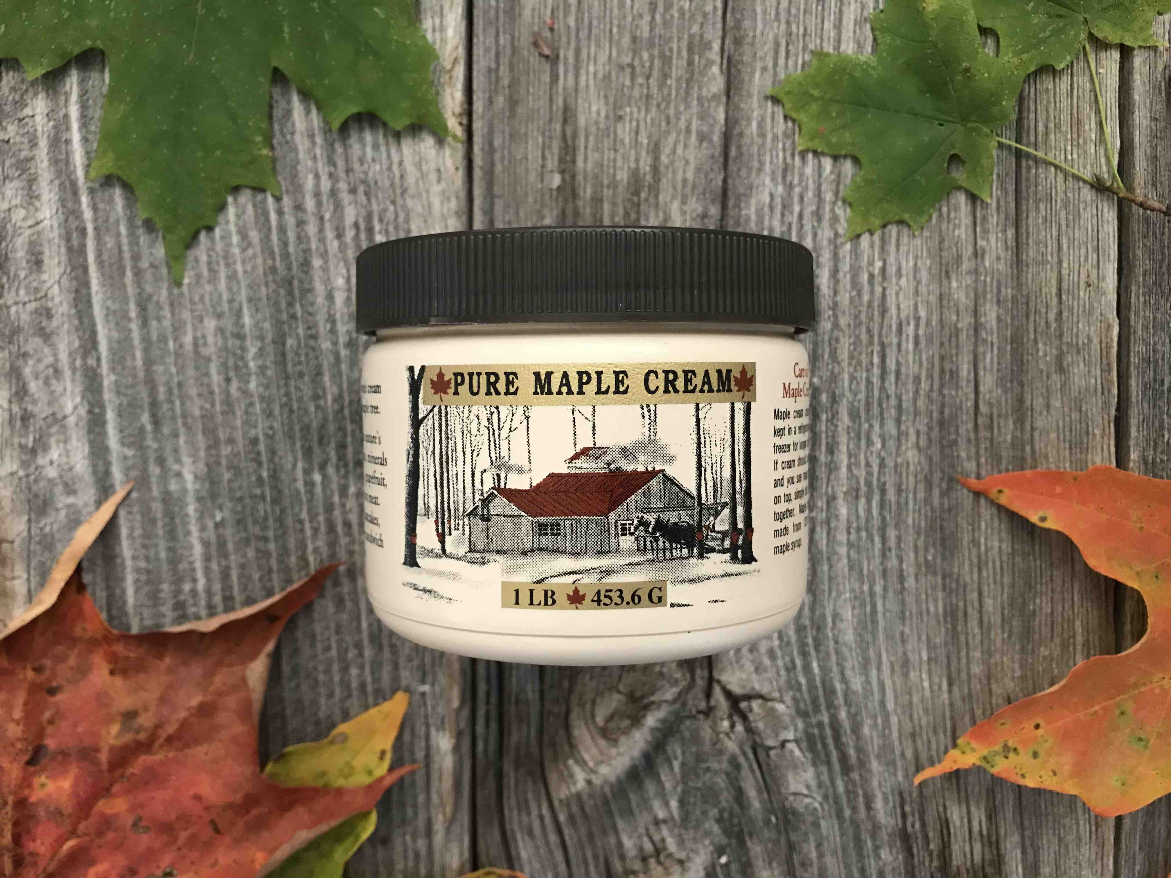 1 Pint - Maple Cream