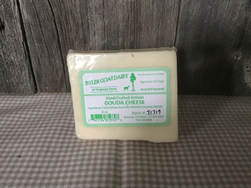 8 Ounces - Goat Gouda Cheese
