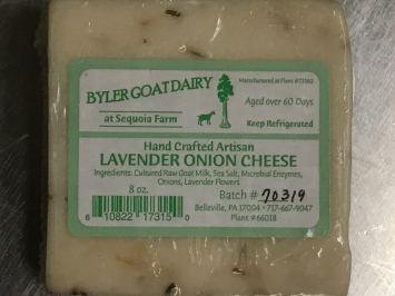 Lavender Onion Goat Cheese, 8 oz.