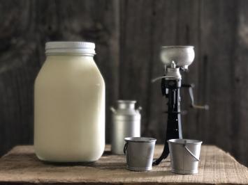 1 Quart - Cow Milk (Glass)
