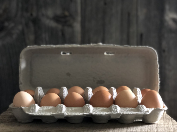 1 Dozen - Pastured Soy-Free Chicken Eggs
