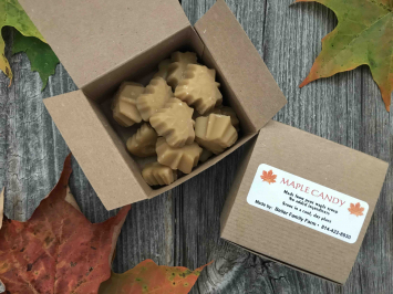 5.5 Ounces - Maple Candy