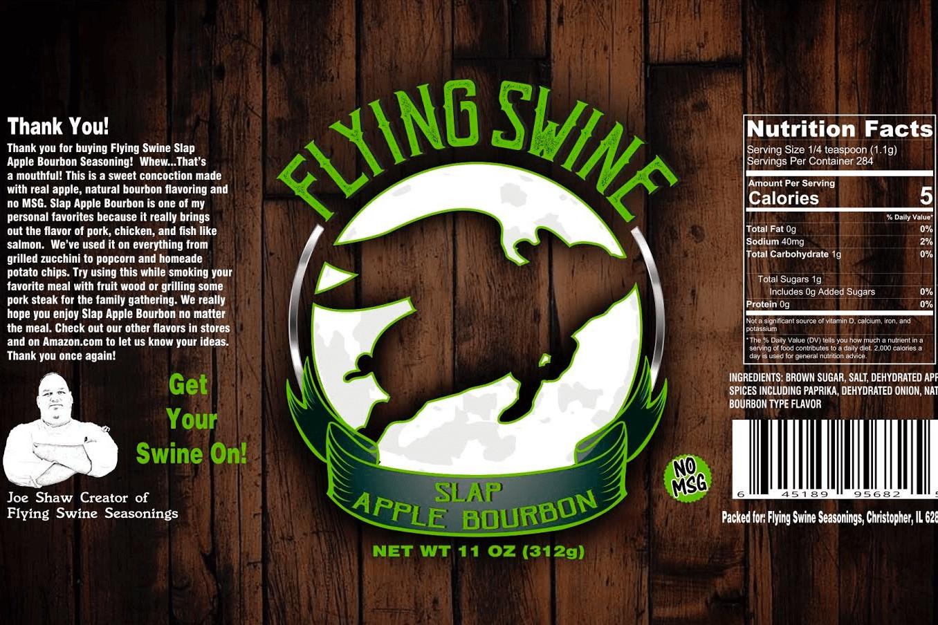 Flying Swine Slap Apple Bourbon