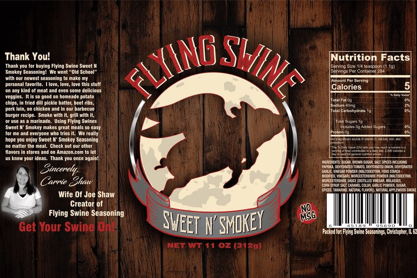 Flying Swine Sweet N' Smokey