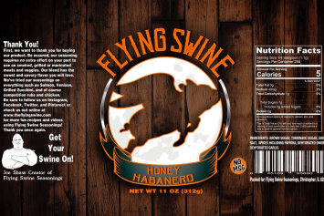 Flying Swine Honey Habanero