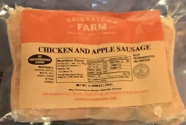 Chicken & Apple Sausage