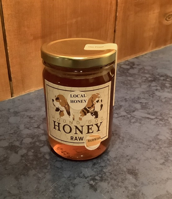 Hound Dog Raw Basswood Honey