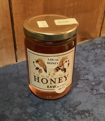 Hound Dog Raw Butterbean Honey