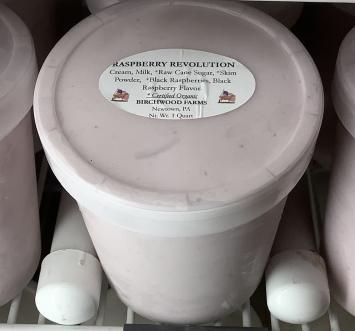 Raspberry Revolution Ice Cream