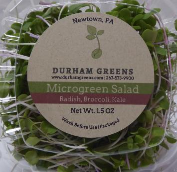 Durham Greens Microgreen Salad