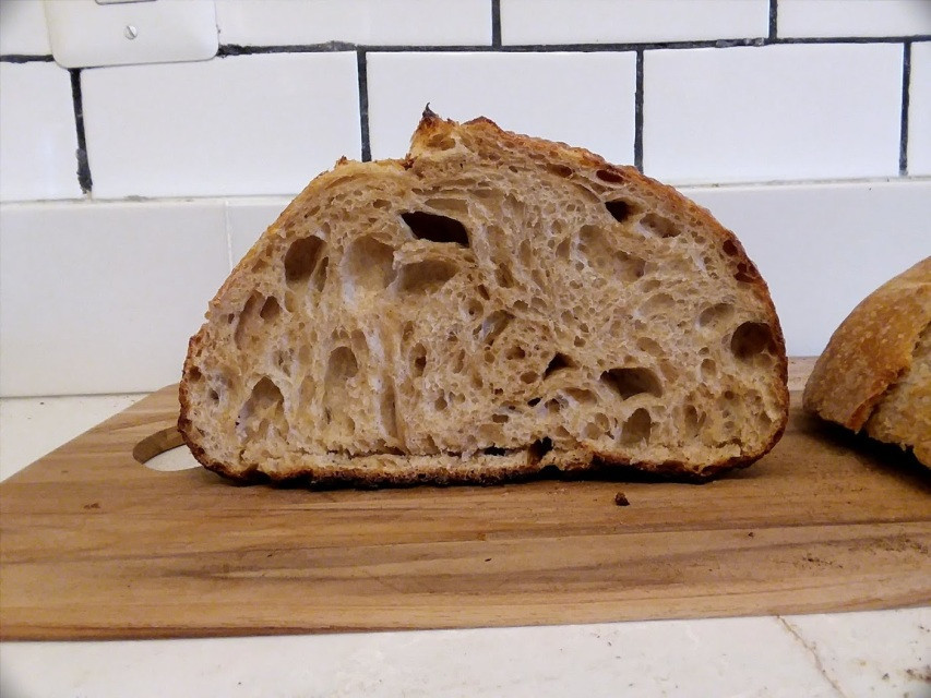 Rustic Rye Sourdough Bread- Small