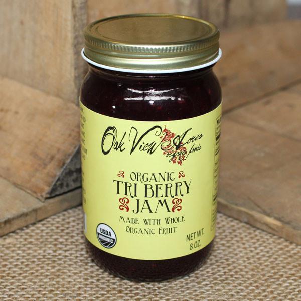 Organic Tri-Berry Jam