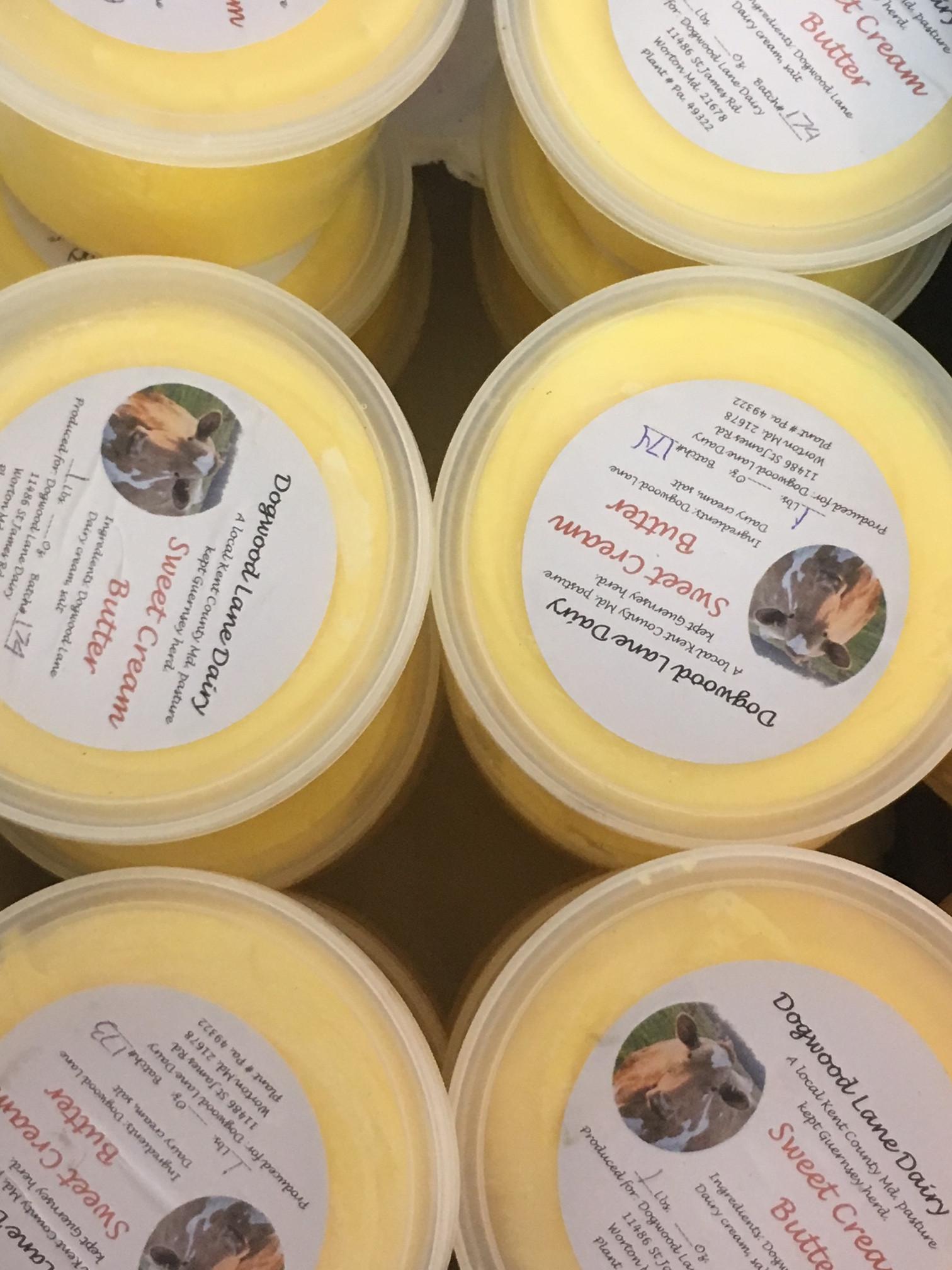Sweet Cream Guernsey Butter
