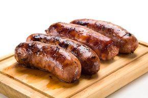 Hot Italian Pork Sausage Grillers