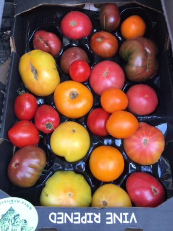 Mixed Organic Tomatoes