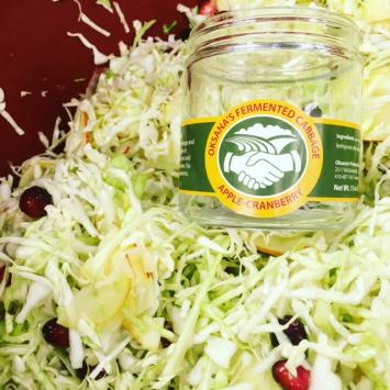 Apple Cranberry Sauerkraut