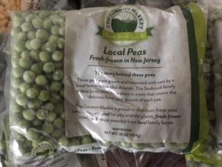 Peas (frozen)