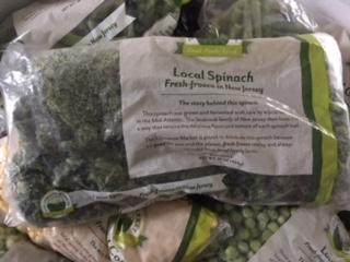 Spinach (frozen)