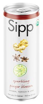 Ginger Blossom Organic Sparkling Soda