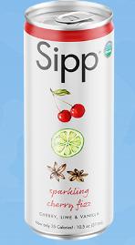 Cherry Fizz Organic Sparkling Soda