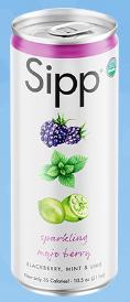 Mojo Berry Organic Sparkling Soda