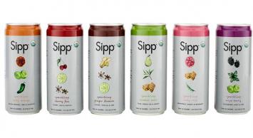 Organic Sparkling Soda Six Pack