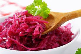 Organic Red Sauerkraut
