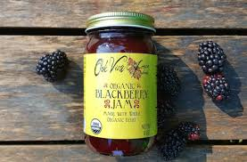 Organic Blackberry Jam