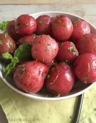Organic All Red Potatoes