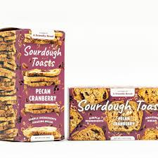 Crackers Sourdough Pecan Cranberry